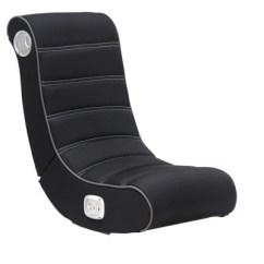 Rocking Bag Chair Blue Upholstered Dining Chairs Gaming Black X Rocker Target