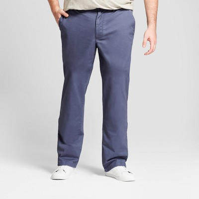 Men's Big & Tall Slim Fit Hennepin Chino Pants - Goodfellow & Co™ Light Gray