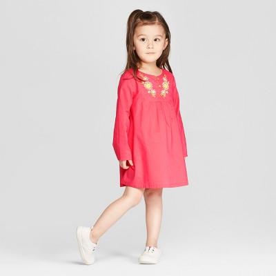 Genuine Kids® from OshKosh Toddler Girls' Kaftan Dress - Coral