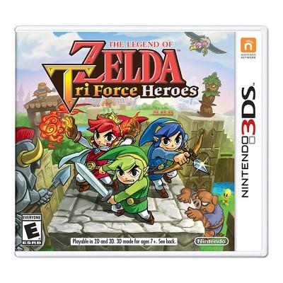 The Legend of Zelda: Tri Force Heroes - Nintendo 3DS (Digital)