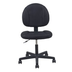 Office Chairs With Wheels Small For Spaces Basic Upholstered Adjustable Chair Black Ofm Target