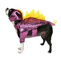 Stegosaurus Dog Costume - Purple/Yellow - Hyde and Eek ...