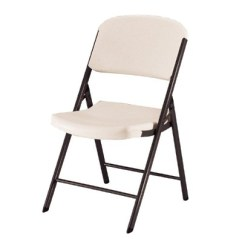 Heavy Duty Folding Chairs Outdoor Stack Cheap 4 Piece Chair Almond Lifetime Target