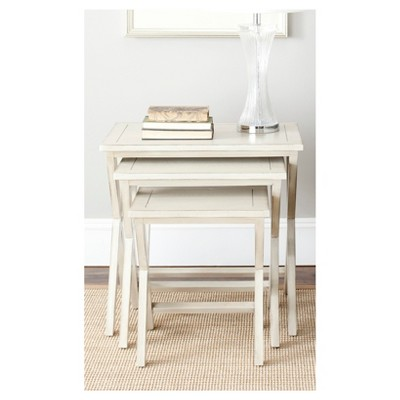 stella sofa table best beds accent white safavieh target