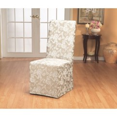 Target Stretch Chair Covers White Cross Back Dining Chairs Long Room Slipcovers Sure Fit