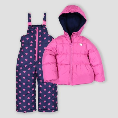 Toddler Girls' 2pc Snowsuit Just One You® made by carter's Fuchsia