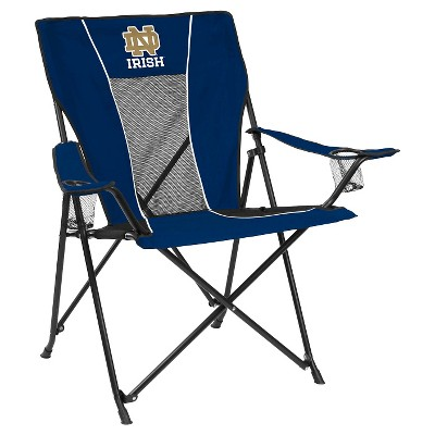 notre dame chair card table and sets fighting irish game time folding camp target ncaa quad