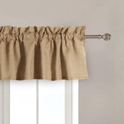 burlap curtains drapes target