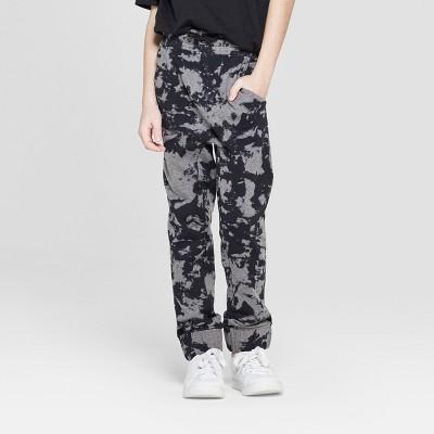 Boys' Tie Dye Knit Jogger - art class™ Gray