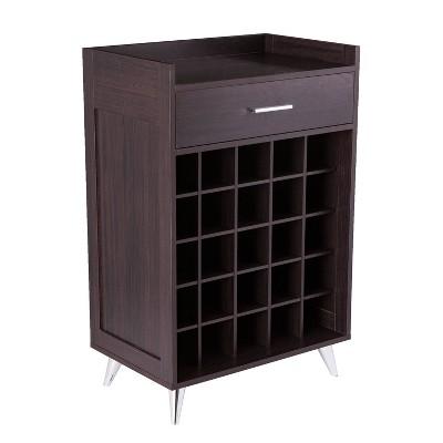 Henson Wine Storage Table Black - Aiden Lane