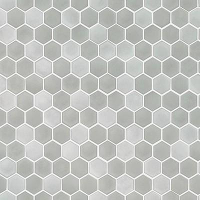 tempaper hexagon tile self adhesive removable wallpaper gray