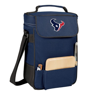 Houston Texans - Duet Wine and Cheese Tote by Picnic Time (Navy)