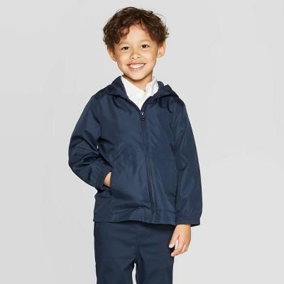 Toddler Boys' Uniform Windbreaker Jacket - Cat & Jack™ Navy