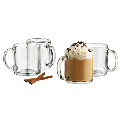 Libbey 13oz Robusta Mug 4pk Set