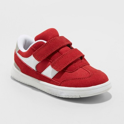Toddler Boys' Casey Sneakers - Cat & Jack™ Red