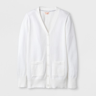 Girls' Long Sleeve Uniform Cardigan - Cat & Jack™