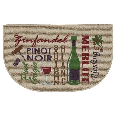 wine kitchen rugs roman shades for red words of rug 18 x30 target