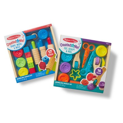 Melissa & Doug® Clay Play Activity Set - With Sculpting Tools and 8 Tubs of Modeling