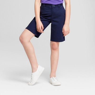 Girls' Chino Uniform Shorts - Cat & Jack™