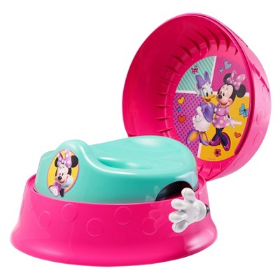 3 in 1 potty chair design turkey the first years disney baby minnie mouse system target