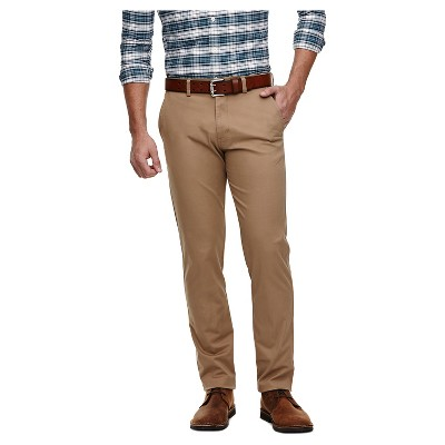 Haggar H26 - Men's Big & Tall Slim Fit Stretch Chino Pants