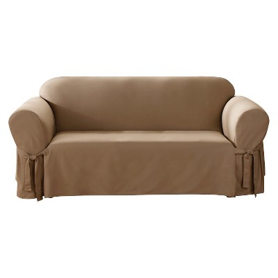 one arm sofa slipcover best value brands canvas sure fit target