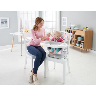target space saver high chair hanging craigslist fisher price spacesaver rosy windmill