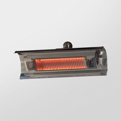 stainless steel wall mounted infrared patio heater fire sense