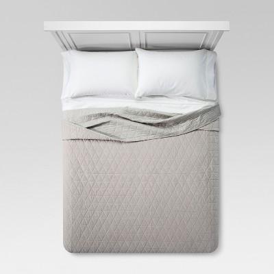 Vintage Wash Velvet Quilt - Threshold™
