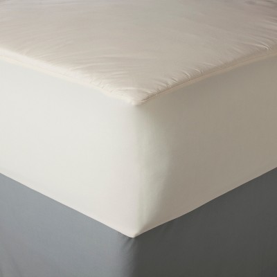 AllerEase Organic Cotton Cover Allergy Protection Mattress Pad
