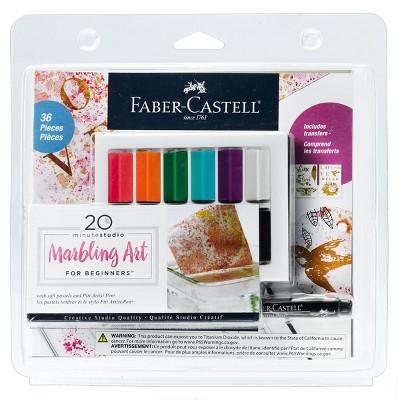 36pc 20 Minute Studio Marbling Art for Beginners - Faber-Castell