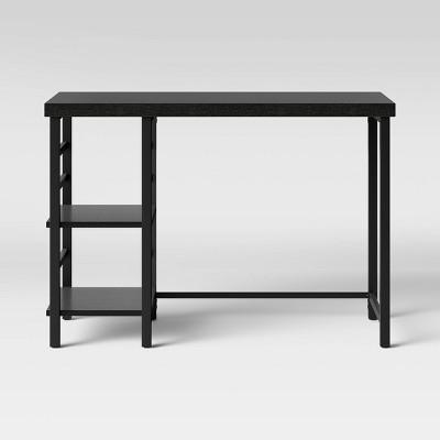 adjustable storage desk black room essentials