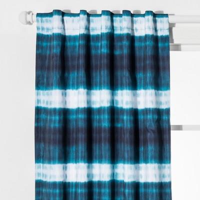 Dip Dye Stripes Blackout Curtain - Pillowfort™