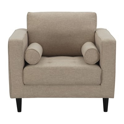 Arthur 1 Seat Tweed Armchair - Manhattan Comfort