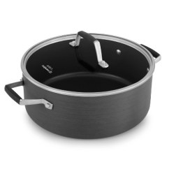 Calphalon Kitchen Essentials Dutch Oven Garbage Disposal 5qt Hard Anodized With Cover Target