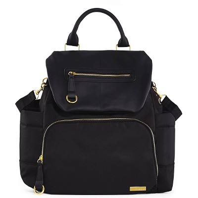 Skip Hop Chelsea Downtown Chic Diaper Backpack - Black
