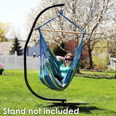 rope chair swing sex chaise lounge ocean breeze jumbo hanging hammock target 1 more