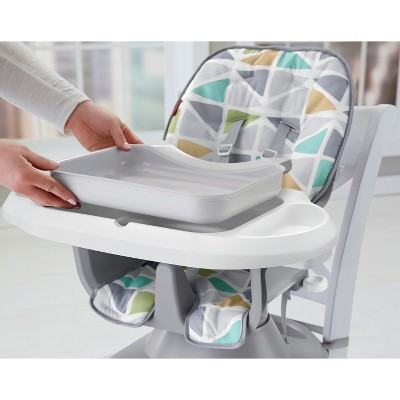 target space saver high chair revolving ahmedabad fisher price spacesaver slanted sails