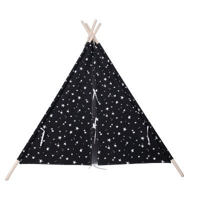 Teepee Glow in the Dark Stars Black - Pillowfort™