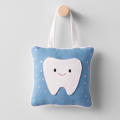 tooth fairy pillow blue pillowfort