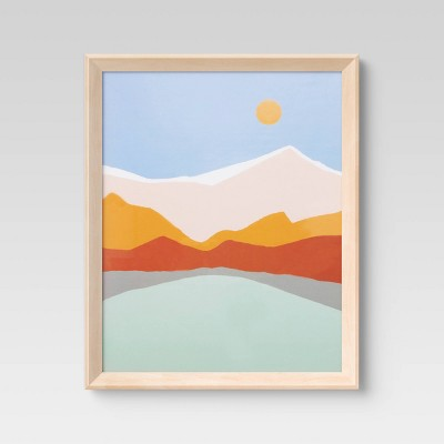 16 x 20 wedge poster frame natural room essentials