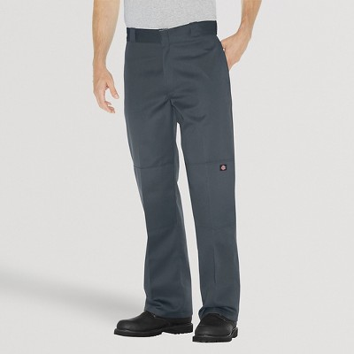 Dickies® Men's Big & Tall Loose Straight Fit Twill Double Knee Work Pants with Extra Pocket