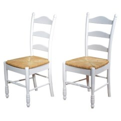 Ladderback Dining Chairs Henredon Room Ladder Back Chair Wood White Set Of 2 Tms Target About This Item