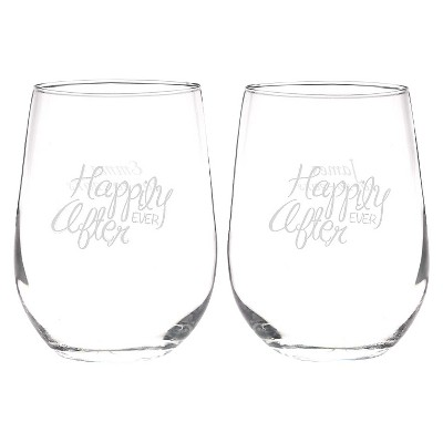 Drinkware Set Hortense B. Hewitt Small Goblet Clear