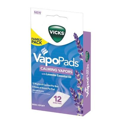 Vicks VapoPads - Lavender - 12ct