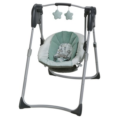 swing chair benefits design in 3ds max graco slim spaces compact baby target
