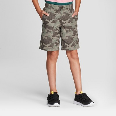 Boys' Chino Shorts - Cat & Jack™ Gray