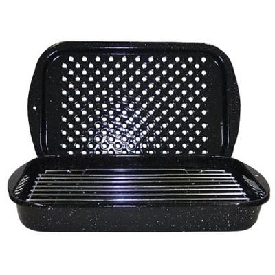 GraniteWare 3pc Bake Broil Amp Grill Set Black Target