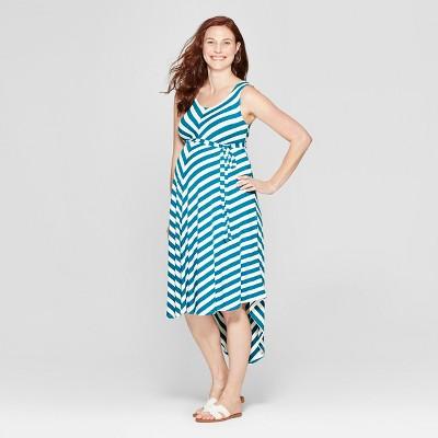 Maternity Striped Sleeveless Dress - Isabel Maternity by Ingrid & Isabel™