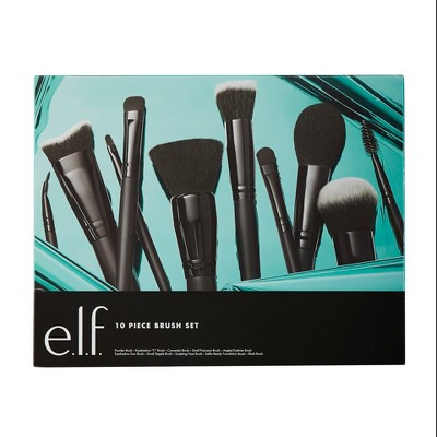 e.l.f. Holiday Brush Set - 10pc